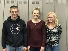 Three AHS Seniors Named Boettcher Semifinalists