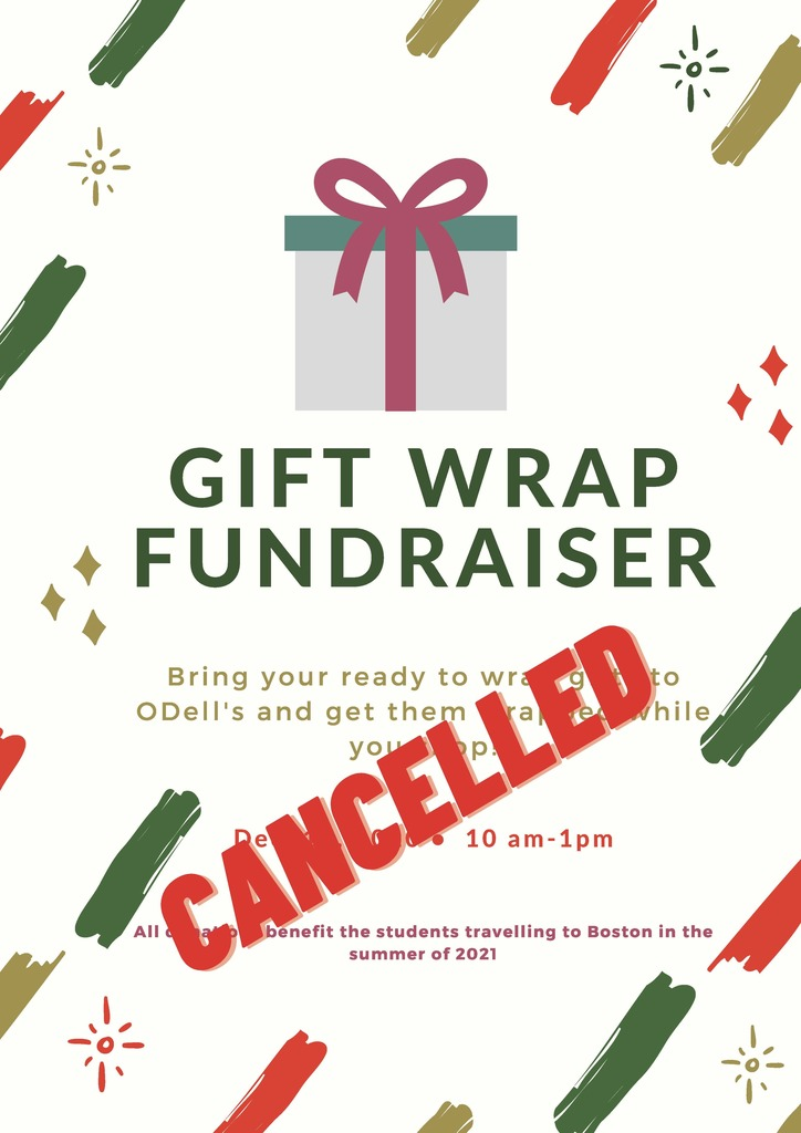 Gift wrap cancelled